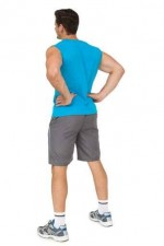 Full length rear view of a fit young man
