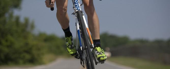 lesiones en bicicleta