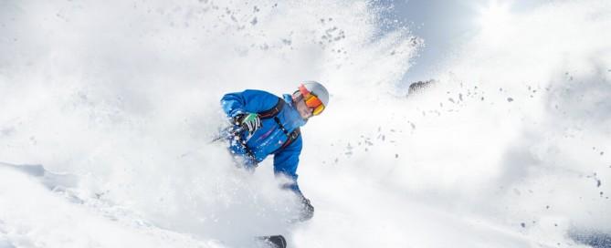 lesiones en esqui